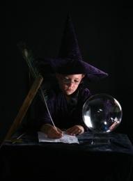 wizard writing