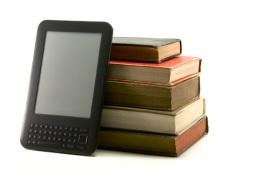ereader and books